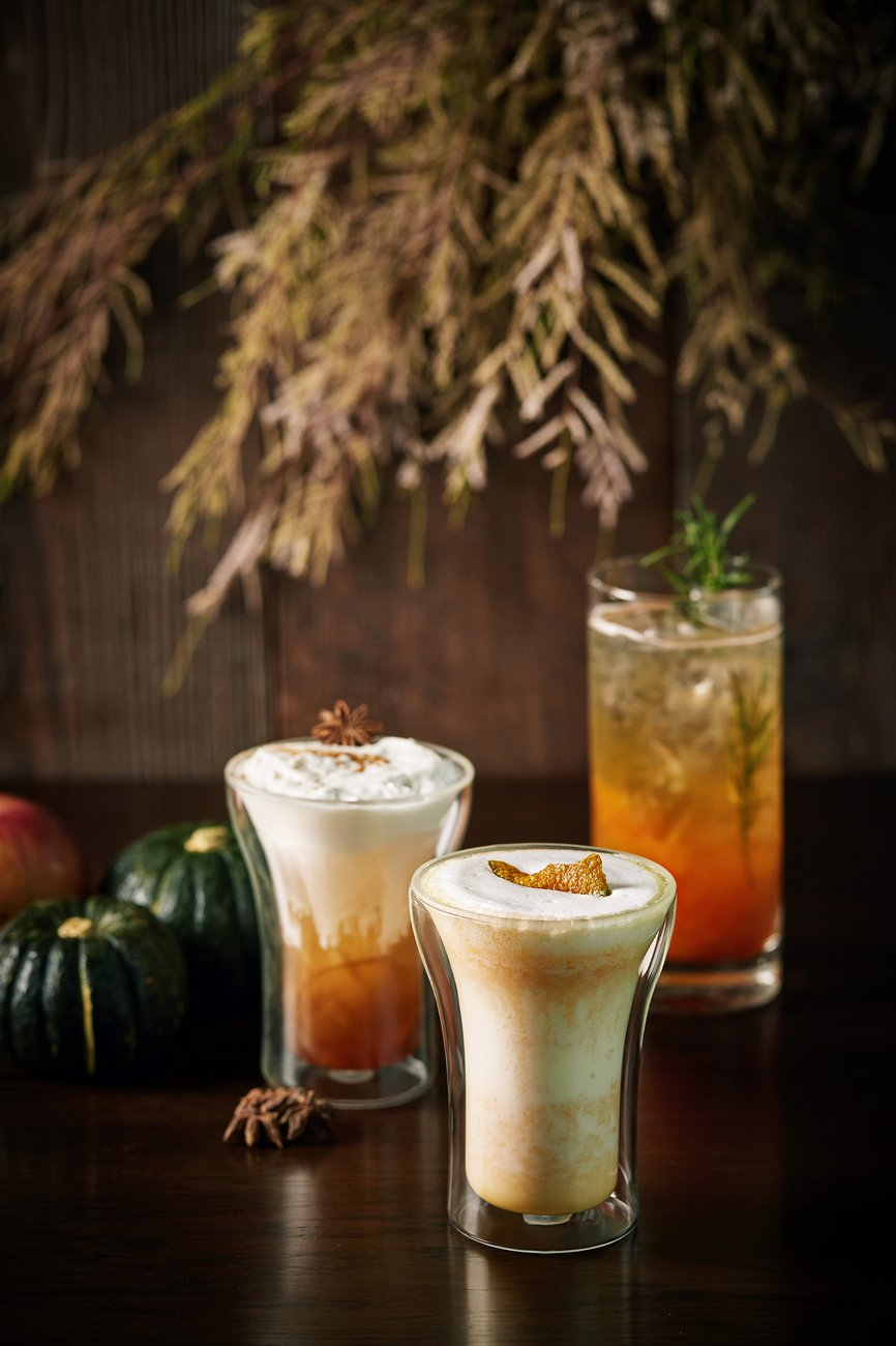 Park Hyatt Busan Lounge Autumn Drinks 파크 하얏트 부산 가을 음료