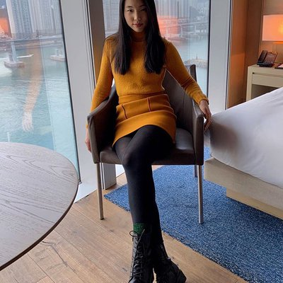 Photo by Yun-Hee in Park Hyatt Busan - 파크하얏트부산. Image may contain: one or more people and shoes